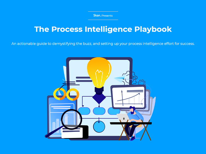 Process Intelligence Playbook Cover Graphic