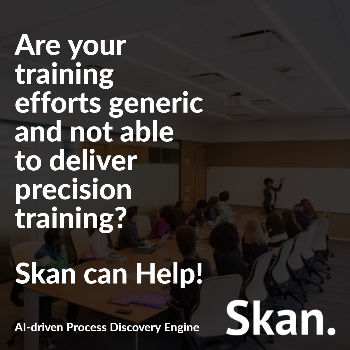 Process Discovery Leads to Precision Training Opportunities
